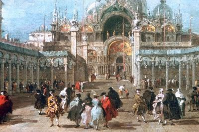The Feast of Ascension in the Piazza San Marco, C1775-Francesco Guardi-Giclee Print