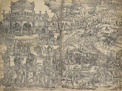 The Feast of Herod-Hans Sebald Beham-Giclee Print