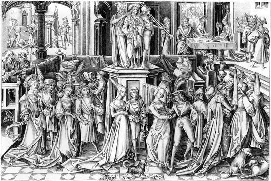 The Feast of Salomé, C1490s- Rosotte-Giclee Print