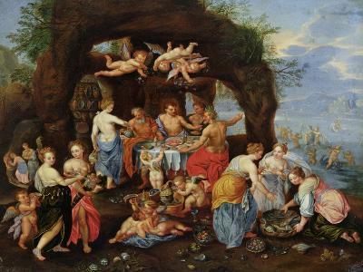 The Feast of the Gods-Jan Van Kessel-Giclee Print