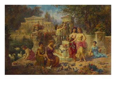 The Feast of Venus-Emmanuel Oberhauser-Giclee Print