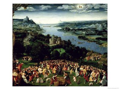The Feeding of the Five Thousand-Joachim Patenir-Giclee Print