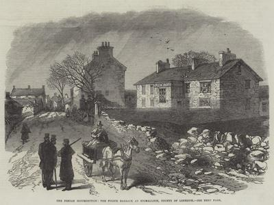 The Fenian Insurrection, the Police Barrack at Kilmallock, County of Limerick--Giclee Print