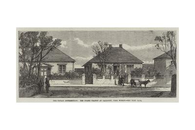 The Fenian Insurrection, the Police Station at Tallaght, Near Dublin--Giclee Print