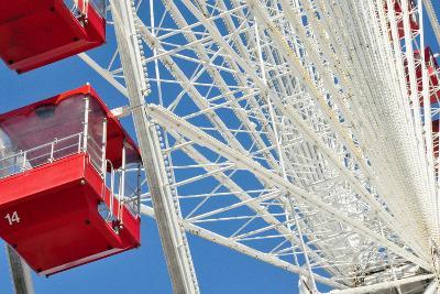 The Ferris Wheel at Navy Pier--Photographic Print