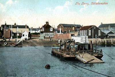 The Ferry at Littlehampton, West Sussex, 1907--Giclee Print