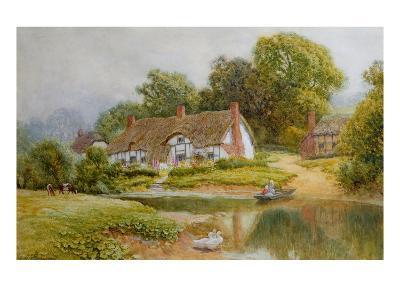 The Ferry-Arthur Claude Strachan-Giclee Print