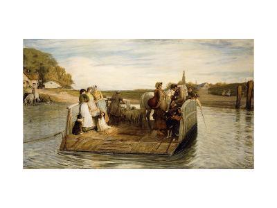 The Ferry-Robert Walker Macbeth-Giclee Print