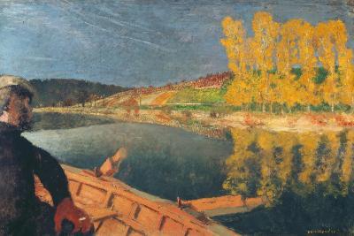 The Ferryman-Edouard Vuillard-Giclee Print