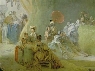 The Festival in the Park of St. Cloud, 1778-80-Jean-Honor? Fragonard-Giclee Print