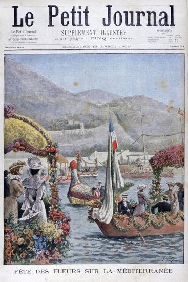 The Festival of Flowers on the Mediterranean, 1902- Yrondy-Giclee Print