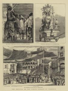 The Festival of the Corpus Christi at Valencia
