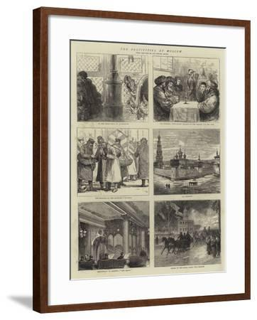 The Festivities at Moscow-Joseph Nash-Framed Giclee Print