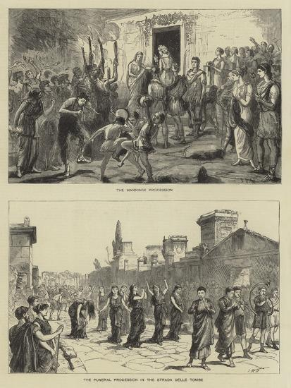 The Fetes at Pompeii-Sydney Prior Hall-Giclee Print