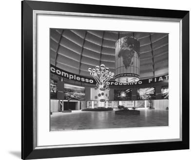 The Fiat Showroom-A. Villani-Framed Photographic Print