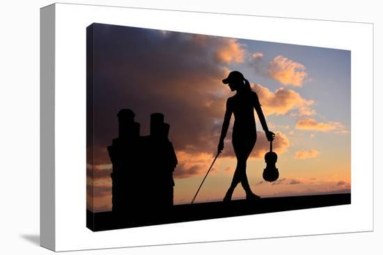 The Fiddler-Dominic Liam-Gallery Wrapped Canvas