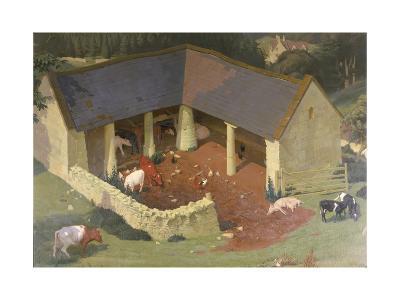 The Field Byre, 1933-James Bateman-Giclee Print
