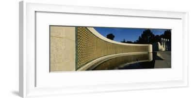 The Field of Stars on the Freedom Wall at the World War Ii Memorial-Richard Nowitz-Framed Photographic Print