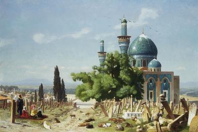 The Fields of Rest, Brousse-Jean Leon Gerome-Giclee Print