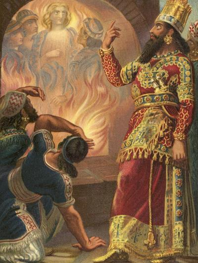 The Fiery Furnace--Giclee Print