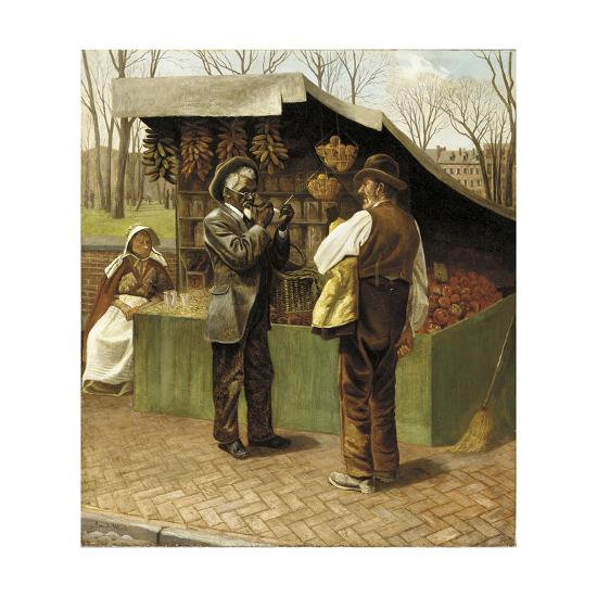 The Fifteenth Amendment (Or Civil Rights)-George Bacon Wood-Giclee Print