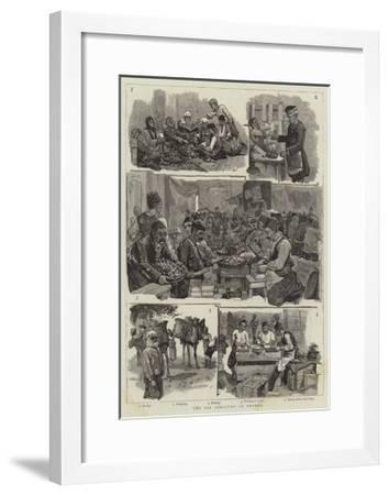 The Fig Industry in Smyrna--Framed Giclee Print