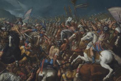 The Fight Between Scipio Africanus and Hannibal, C. 1616-1618-Bernardino Cesari-Giclee Print