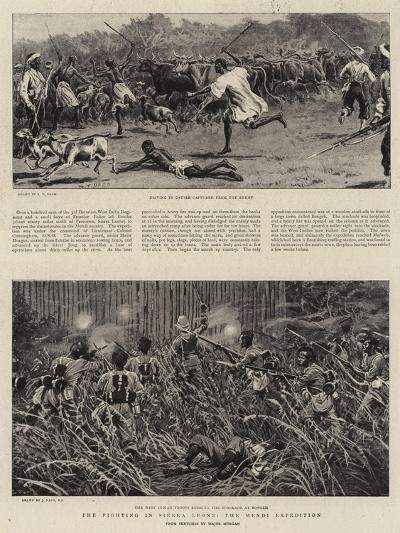 The Fighting in Sierra Leone, the Mendi Expedition-S^t^ Dadd-Giclee Print