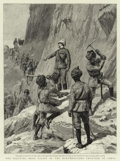 The Fighting Near Gilgit on the North-Western Frontier of India--Giclee Print