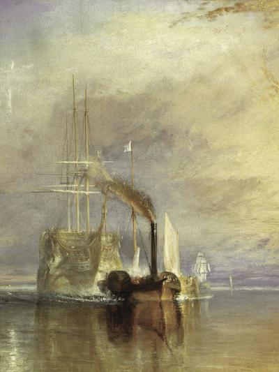 The Fighting Temeraire - Detail-J^ M^ W^ Turner-Giclee Print