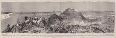 The Final Blow to Mahdism, the Battle of Omdurman, Panoramic View of the Main Attack-Frank Dadd-Giclee Print