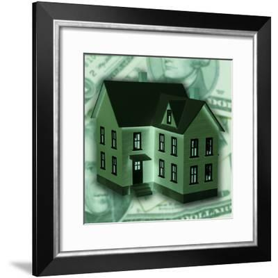 The Financial Commitment Behind Home Ownership--Framed Photographic Print