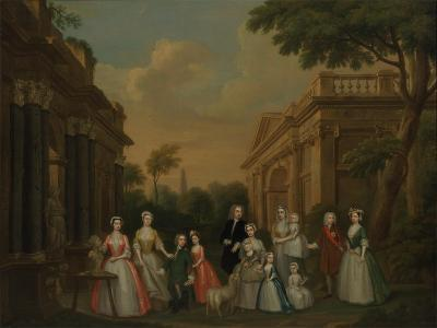 The Finch Family, C.1732-Charles Philips-Giclee Print