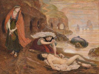 The Finding of Don Juan by Haidée, 1869-1870-Ford Madox Brown-Giclee Print