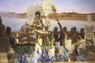 The Finding of Moses-Sir Lawrence Alma-Tadema-Giclee Print