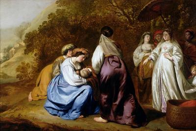 The Finding of Moses-Abraham Lamberts Jacobsz van den Tempel-Giclee Print