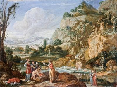 The Finding of Moses-Bartholomeus Breenbergh-Giclee Print