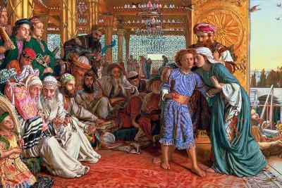 The Finding of the Saviour in the Temple, 1862-William Holman Hunt-Giclee Print