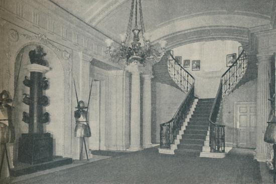 'The fine Staircase Hall in the First Lord's residence at the Admiralty', 1937-Unknown-Photographic Print