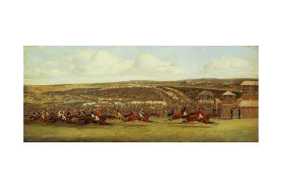 The Finish of the Derby-Henry Thomas Alken-Giclee Print