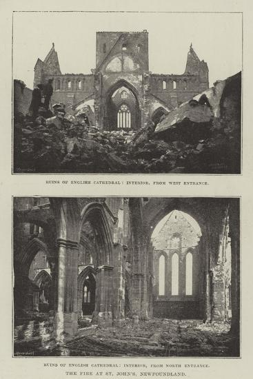 The Fire at St John's, Newfoundland--Giclee Print