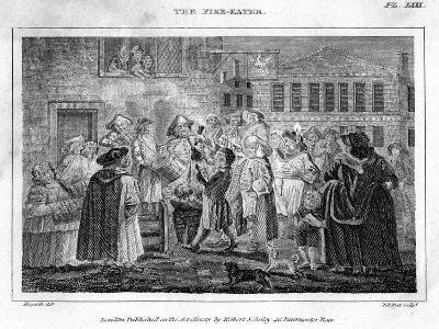 The Fire-Eater, 18th Century-DB Pyet-Giclee Print
