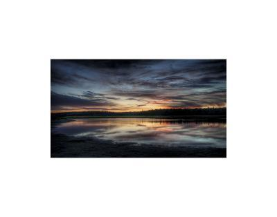 The Fire in the Sky-Eric Wood-Art Print