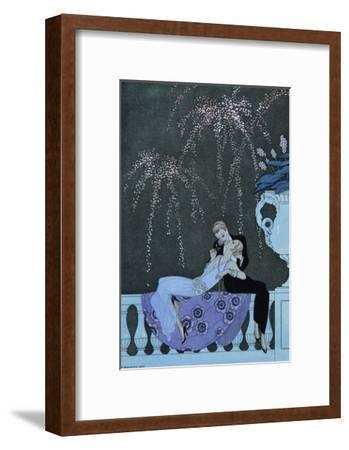 The Fire-Georges Barbier-Framed Giclee Print