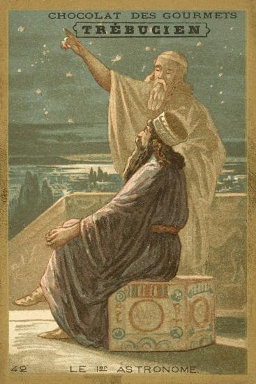 The First Astronomer--Giclee Print