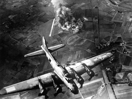 The First Big Raid by the 8th Air Force On a Focke Wulf Plant at Marienburg-Stocktrek Images-Photographic Print