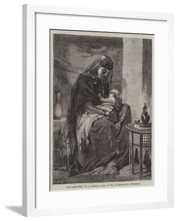 The First-Born, in the International Exhibition-Frederick Goodall-Framed Giclee Print
