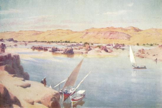 'The First Cataract', c1880, (1904)-Robert George Talbot Kelly-Giclee Print