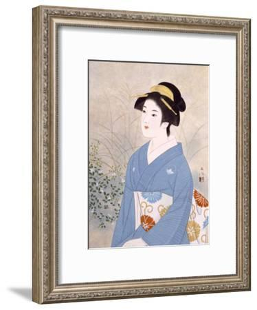 The First Day of Autumn-Goyo Otake-Framed Giclee Print