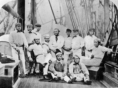The First English Cricket Team to Tour America, 1859--Giclee Print